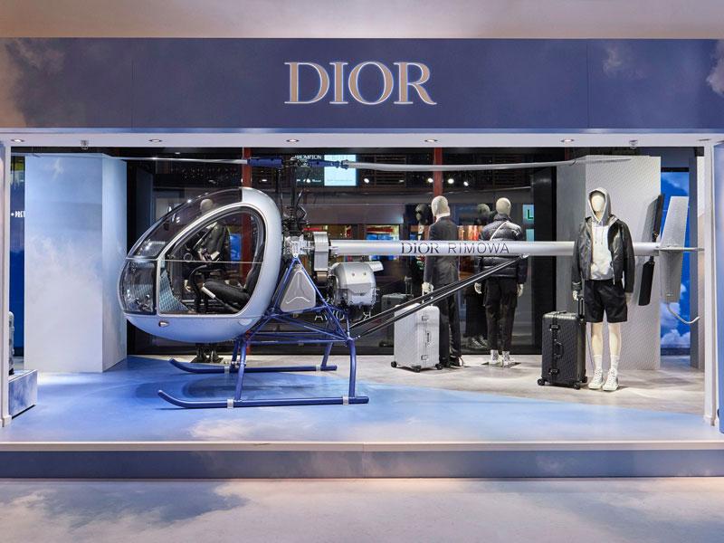 L'Atelier Five | Dior Men x Rimowa Pop Up