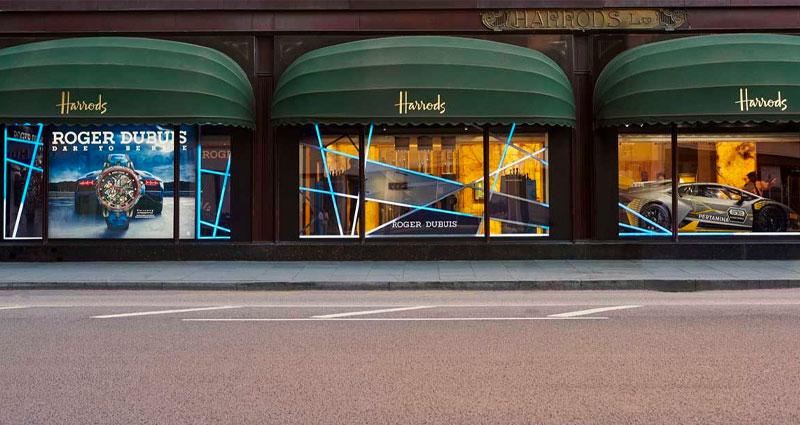 L'Atelier Five   Roger Dubuis - Harrods Pop Up