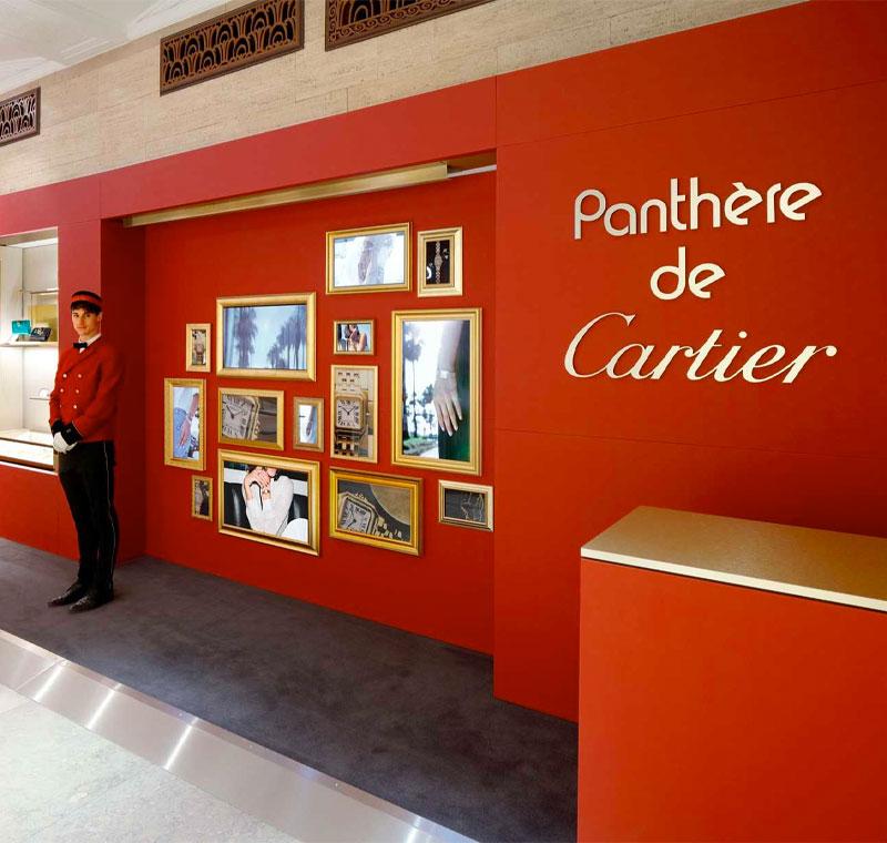 L'Atelier Five   Cartier - Cartier Santos and Panthere
