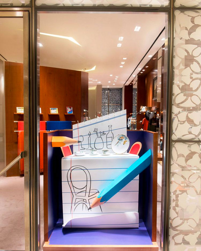 L'Atelier Five   Hermès - Pencil Possibilities